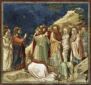 Giotto, Resurrezione di Lazzaro, 1304-1306